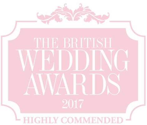 The British Wedding Awards 2017 - Highly Commended