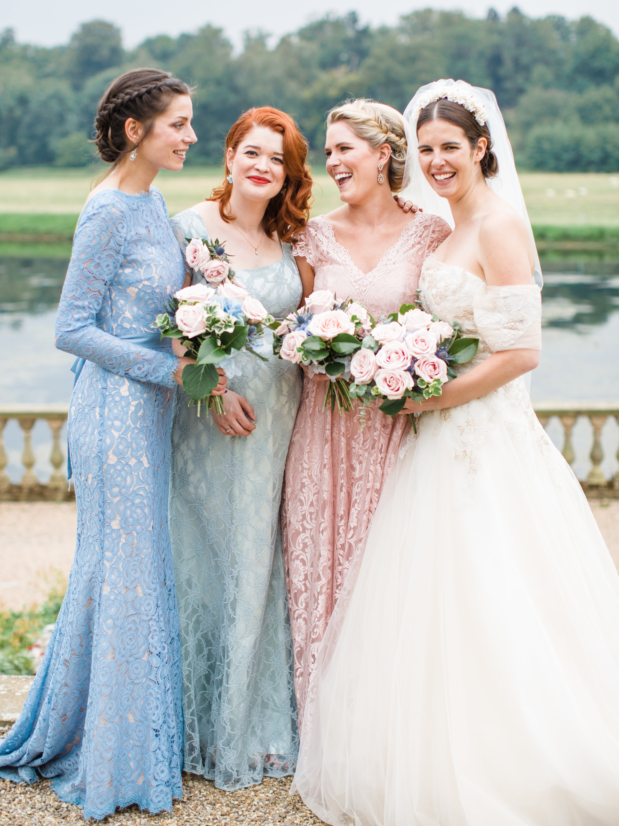 Co-Founder Louie's Wedding at Stoneleigh Abbey - Photo:  Amy O'Boyle