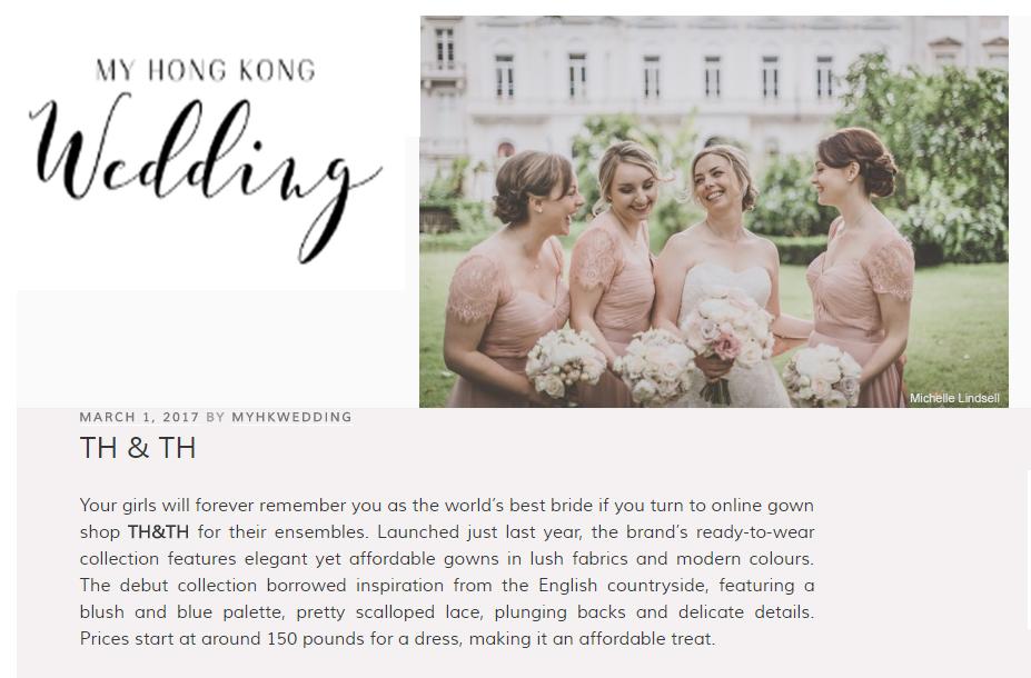 My Hong Kong Wedding - April 2017