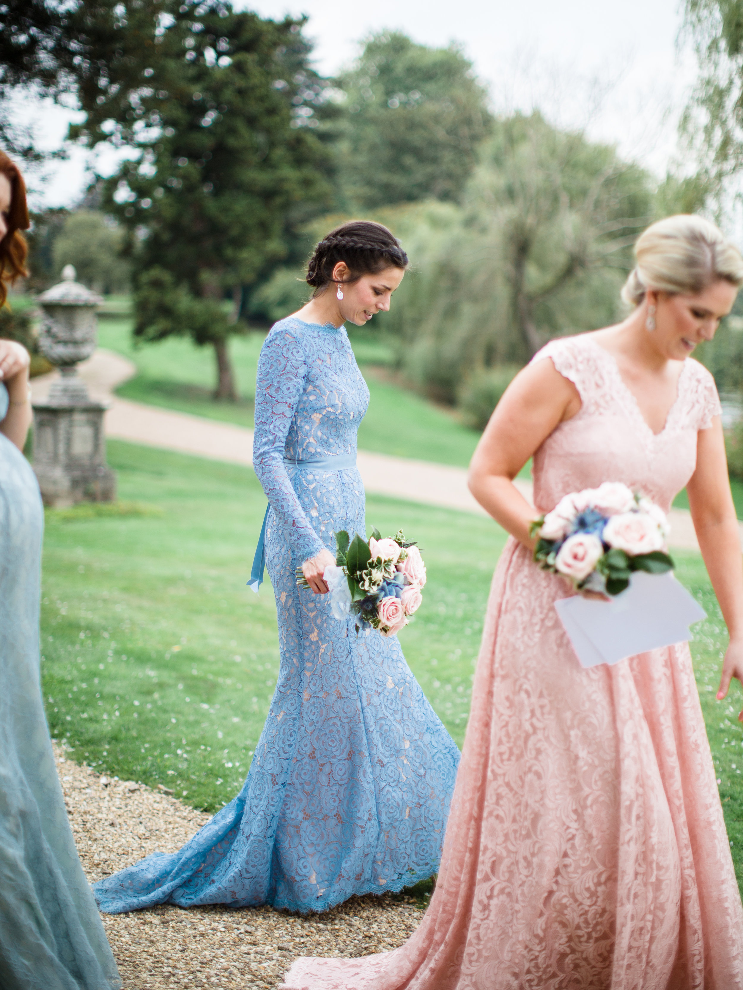 Alara & Charlotte gown at Co-Founder Louie's wedding - Photo:  Amy O'Boyle