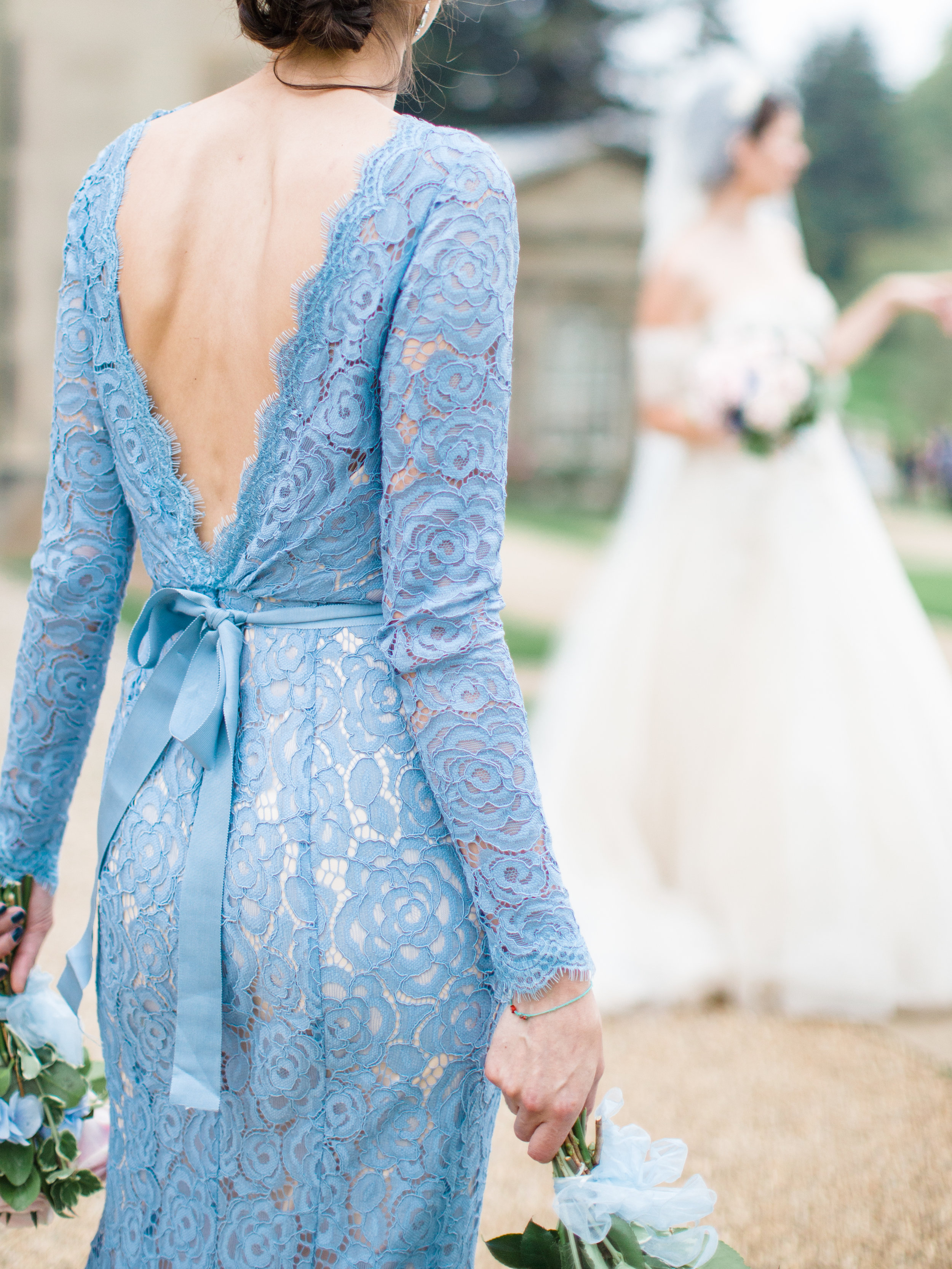 Alara gown at Co-Founder Louie's wedding. Photo -  Amy O'Boyle