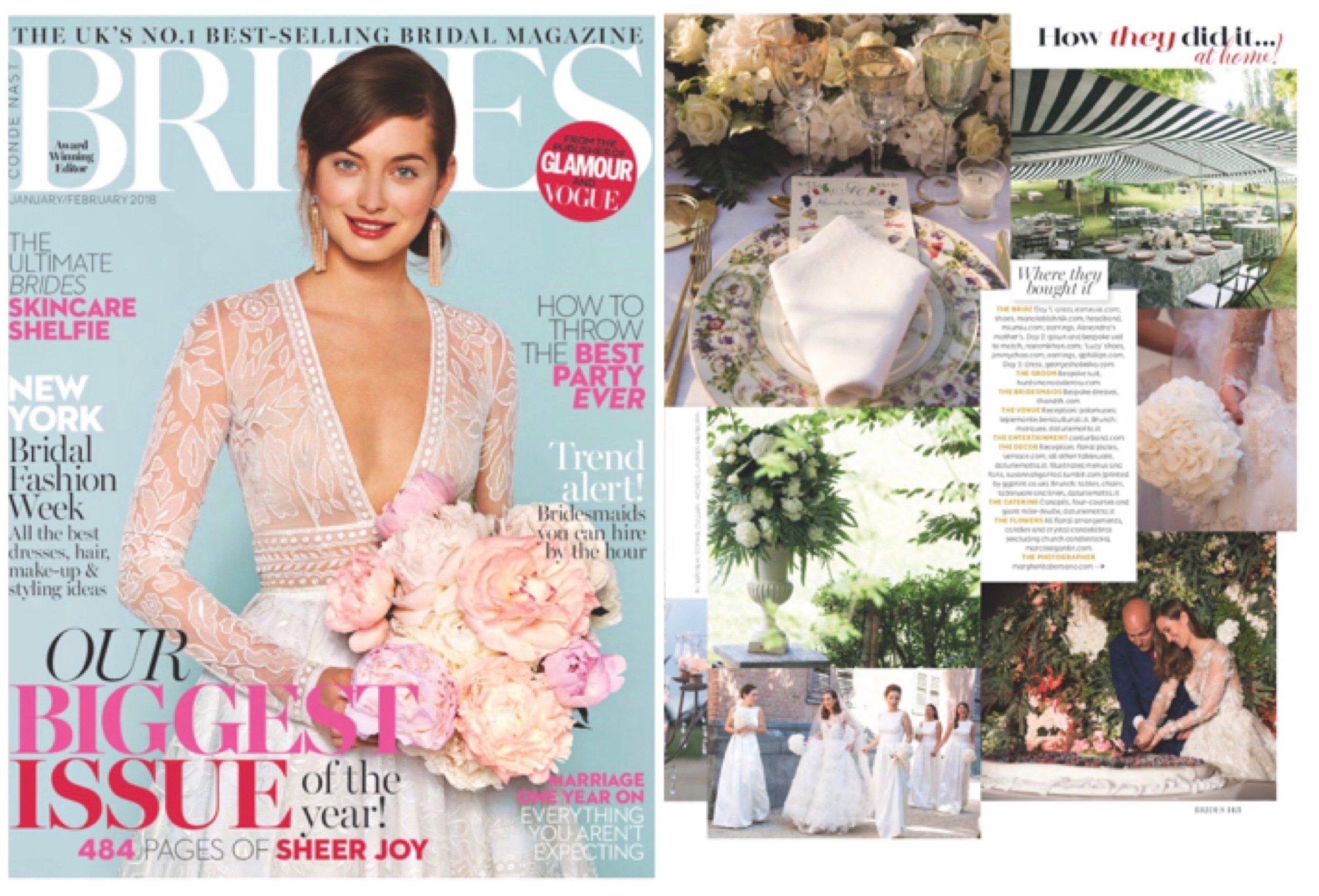 Brides Magazine - Jan/Feb 2018