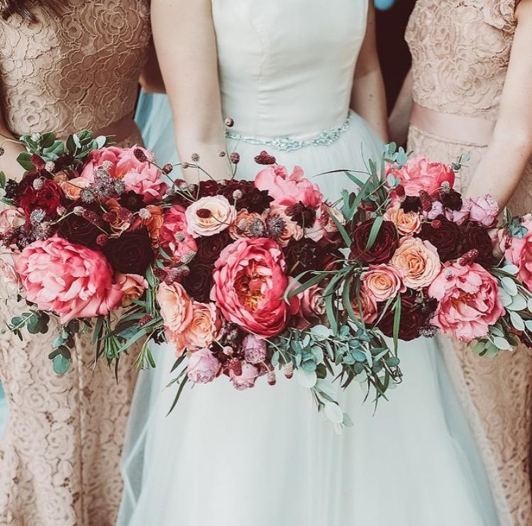 Carrieann's incredible wedding with her best girls wearing Alara in Tan - Photo  Lemonade Pictures