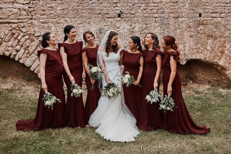 Jess and her best girls wearing  Cecelia in Roseberry  - Photo  Benjamin Wheeler