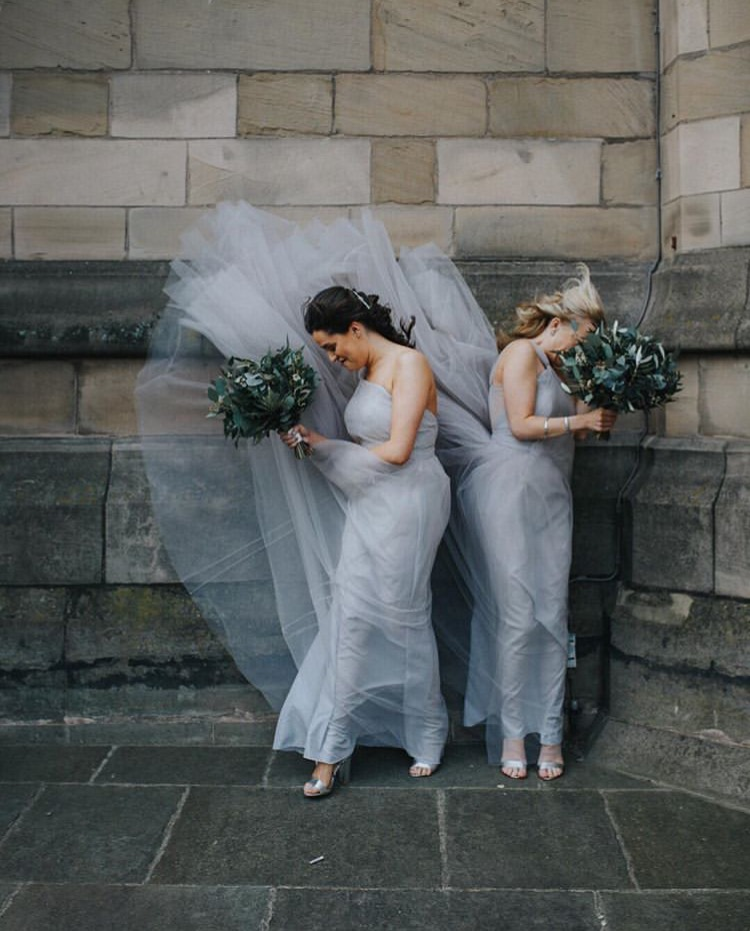 Gone with the wind - Hannah's gorgeous girl maintaining maximum level chic in  Luna Silver mist  - Photo -  Magda K