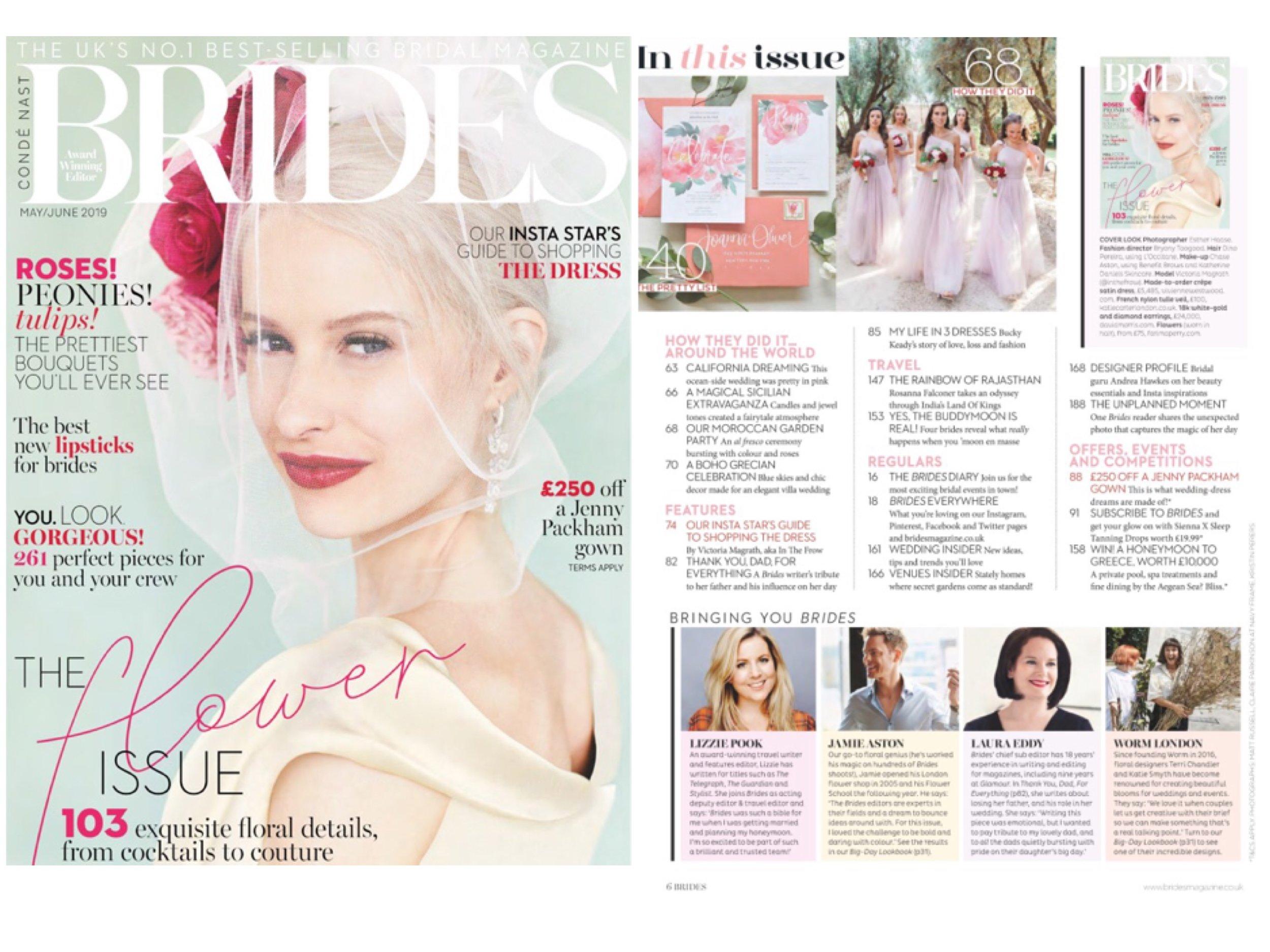 Brides Magazine - May/June 2019