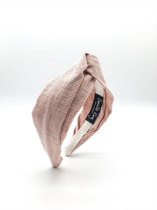 Tweed Shrimps Turban Headband - £45