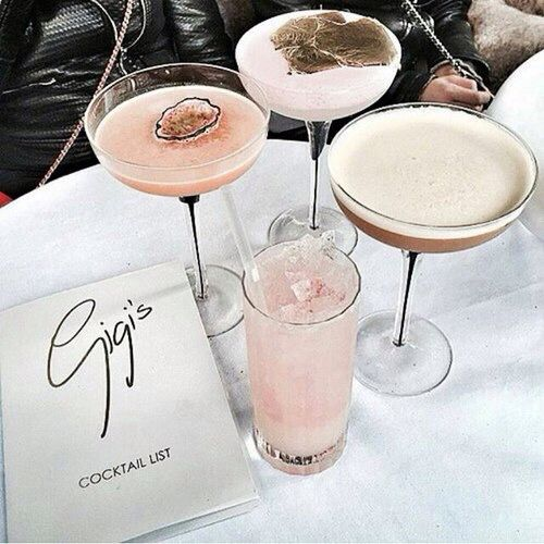 Personalised cocktails are always a chic touch