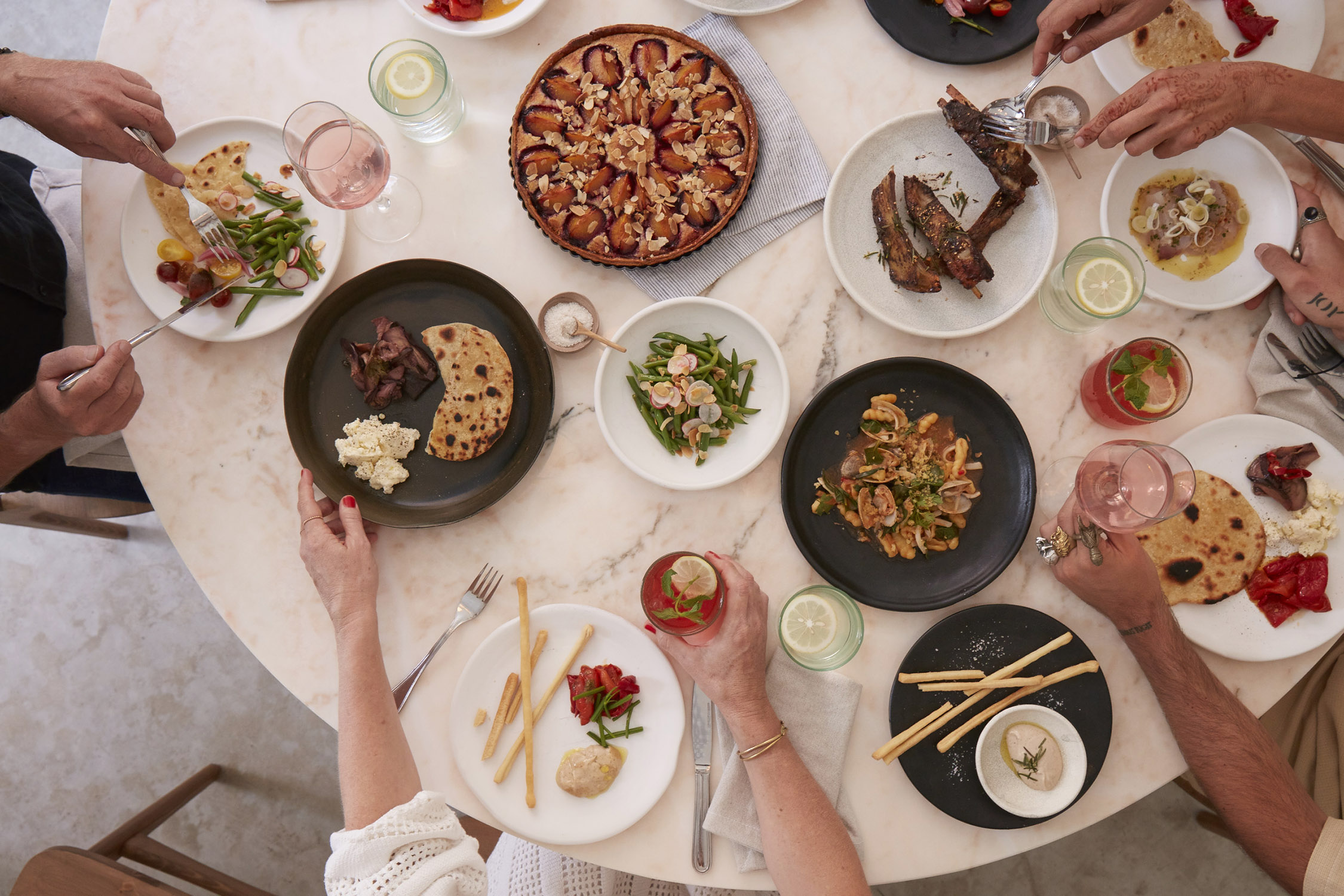 Feasting at +61 in Marrakech