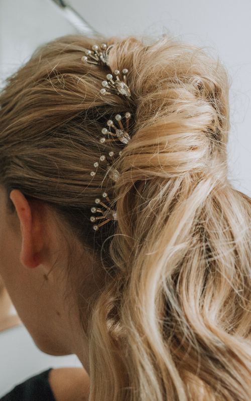 TILLY THOMAS LUXE  Selkie Hair Pins  £150.00