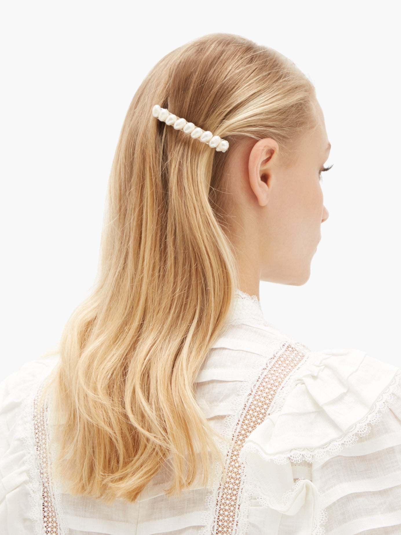 TIMELESS PEARLY  Pearl hair clip  £160.00