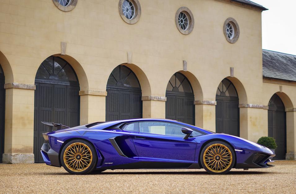Lamborghini Aventador SV wedding car