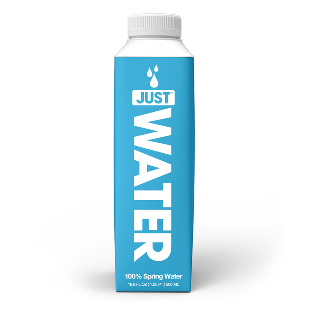 Just Water - £1.00 500ml