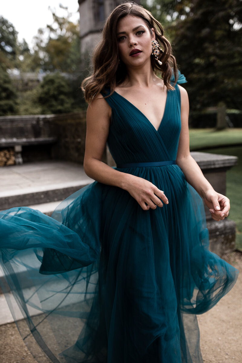 Grace gown in Emerald