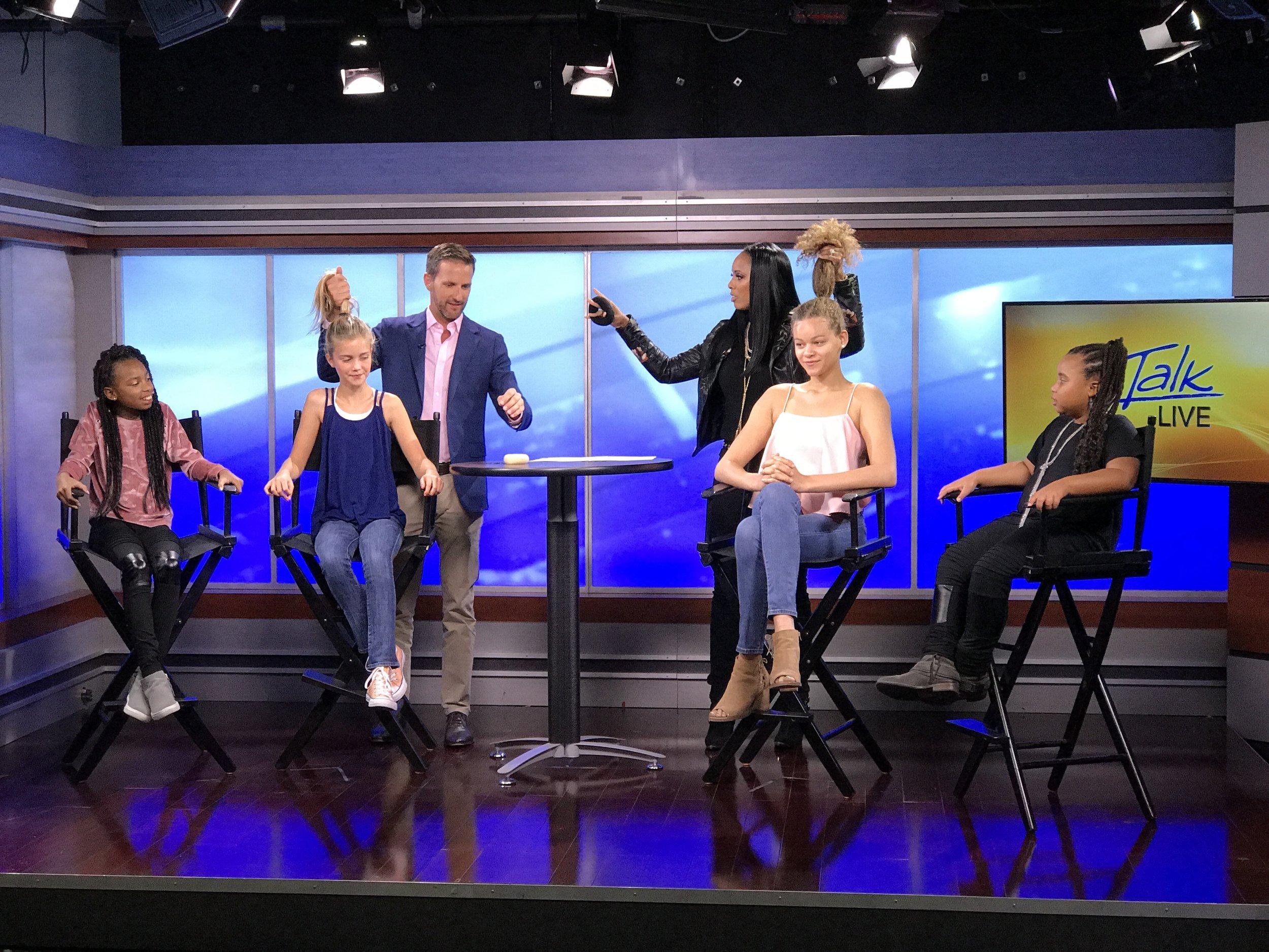 "Raquel Riley Thomas on ABC ""Let's Talk Live"""