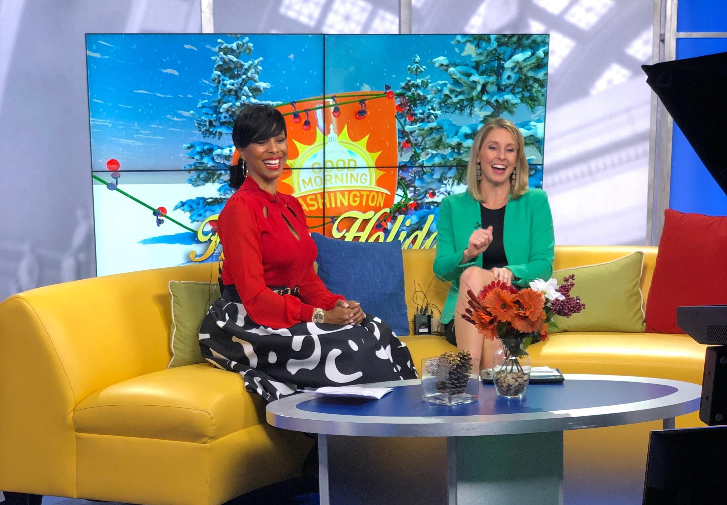 """Raquel Riley Thomas on """"Good Morning Washington"""""""