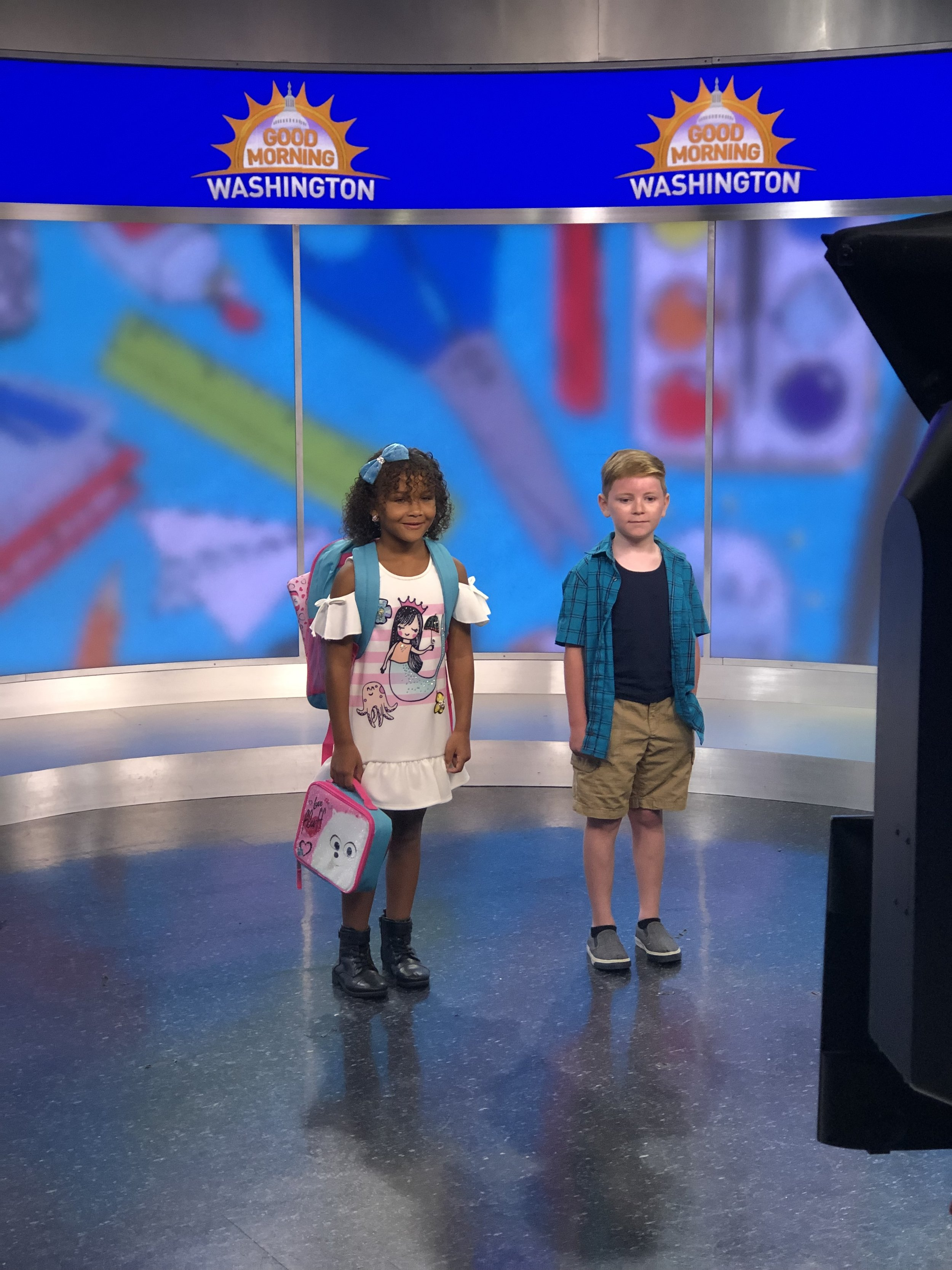 Destiney and Jesse model back to school clothing on my recent segment on ABC7 Good Morning Washington. Want to see you can get these outfits? Click  here  to see the full show!