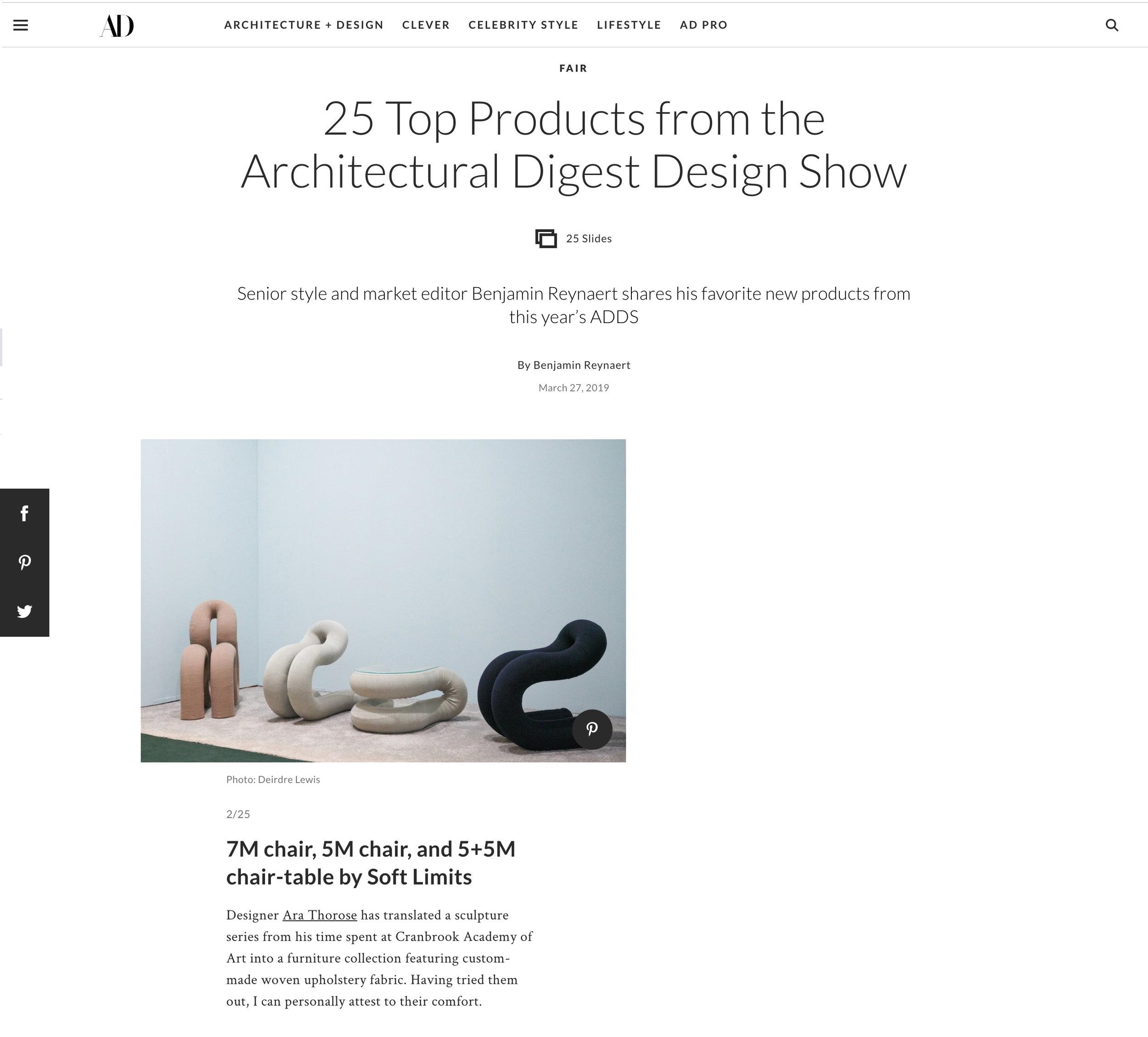 Architectural Digest 2019