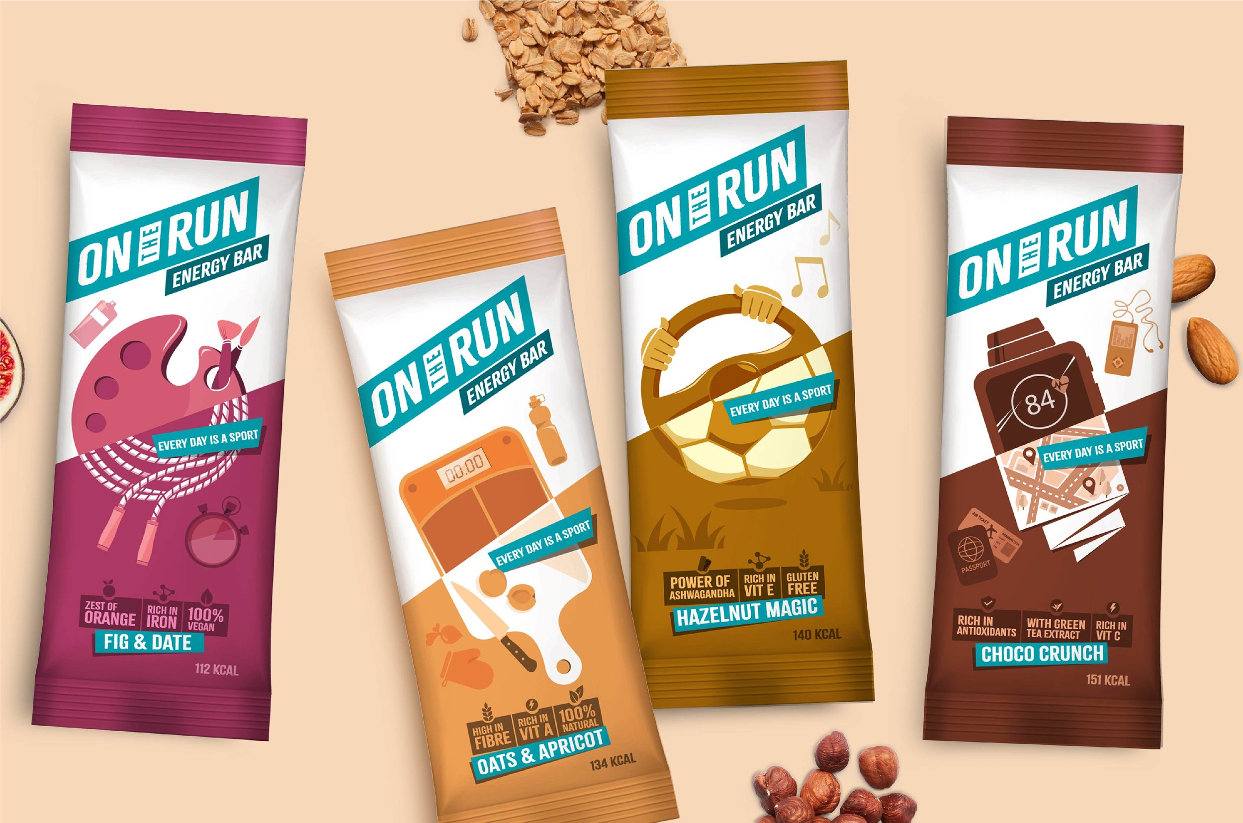 PACKAGING FOR FAST-PACED LIFESTYLE