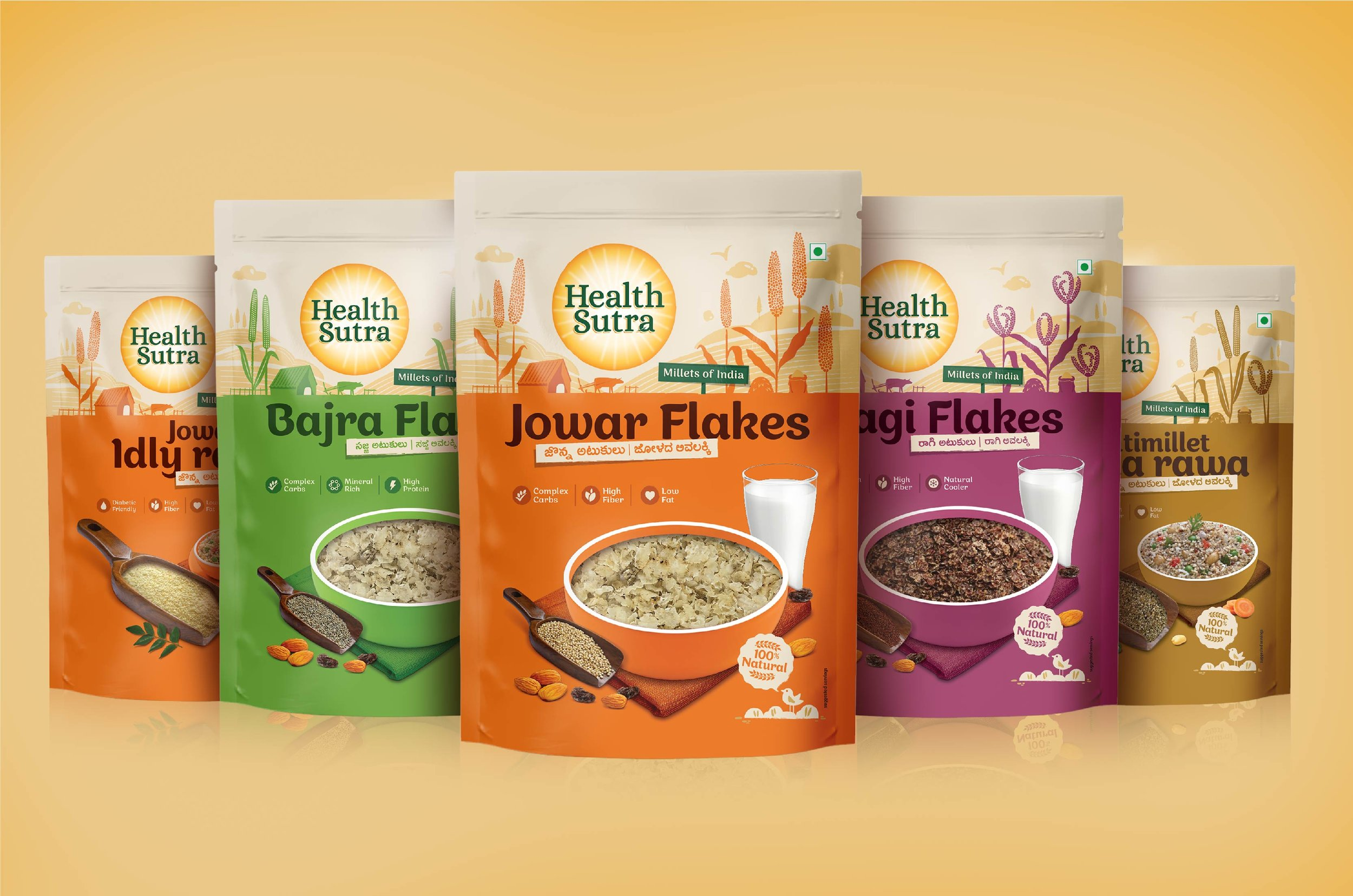 PACKAGING FOR CONTEMPORARY INDIAN DIET