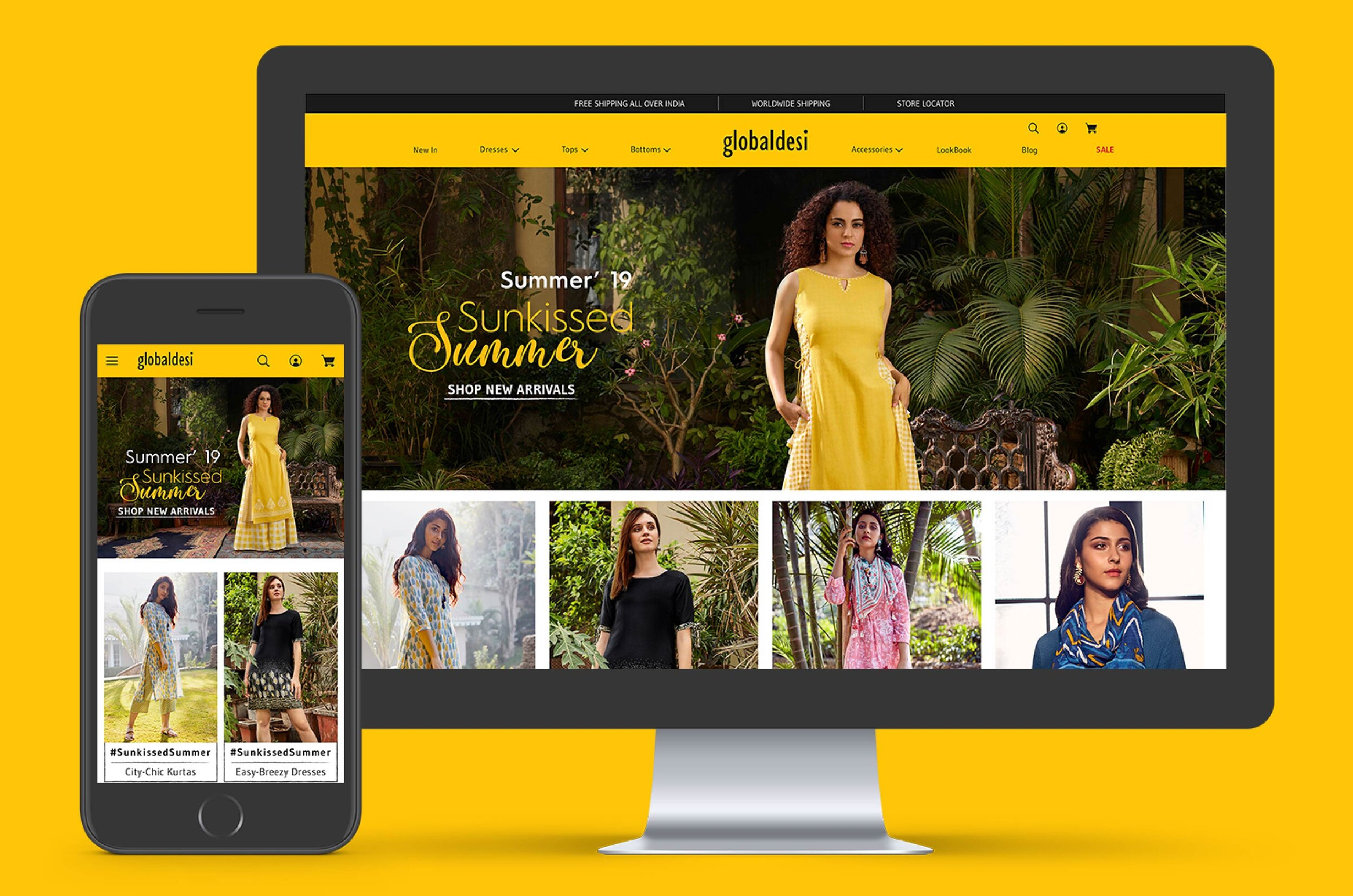 ONLINE SHOPPING EXPERIENCE FOR FREE-SPIRITED WOMEN