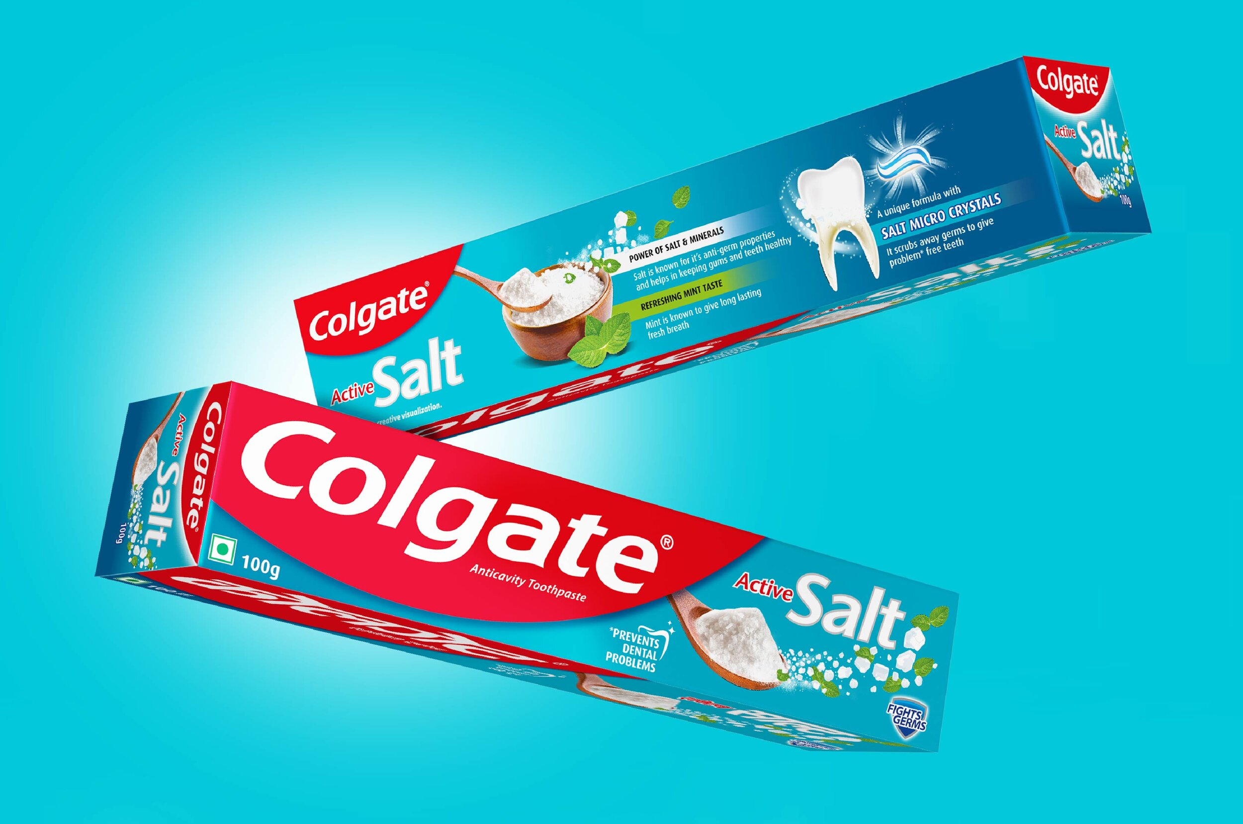 PACKAGING FOR ICONIC TOOTHPASTE