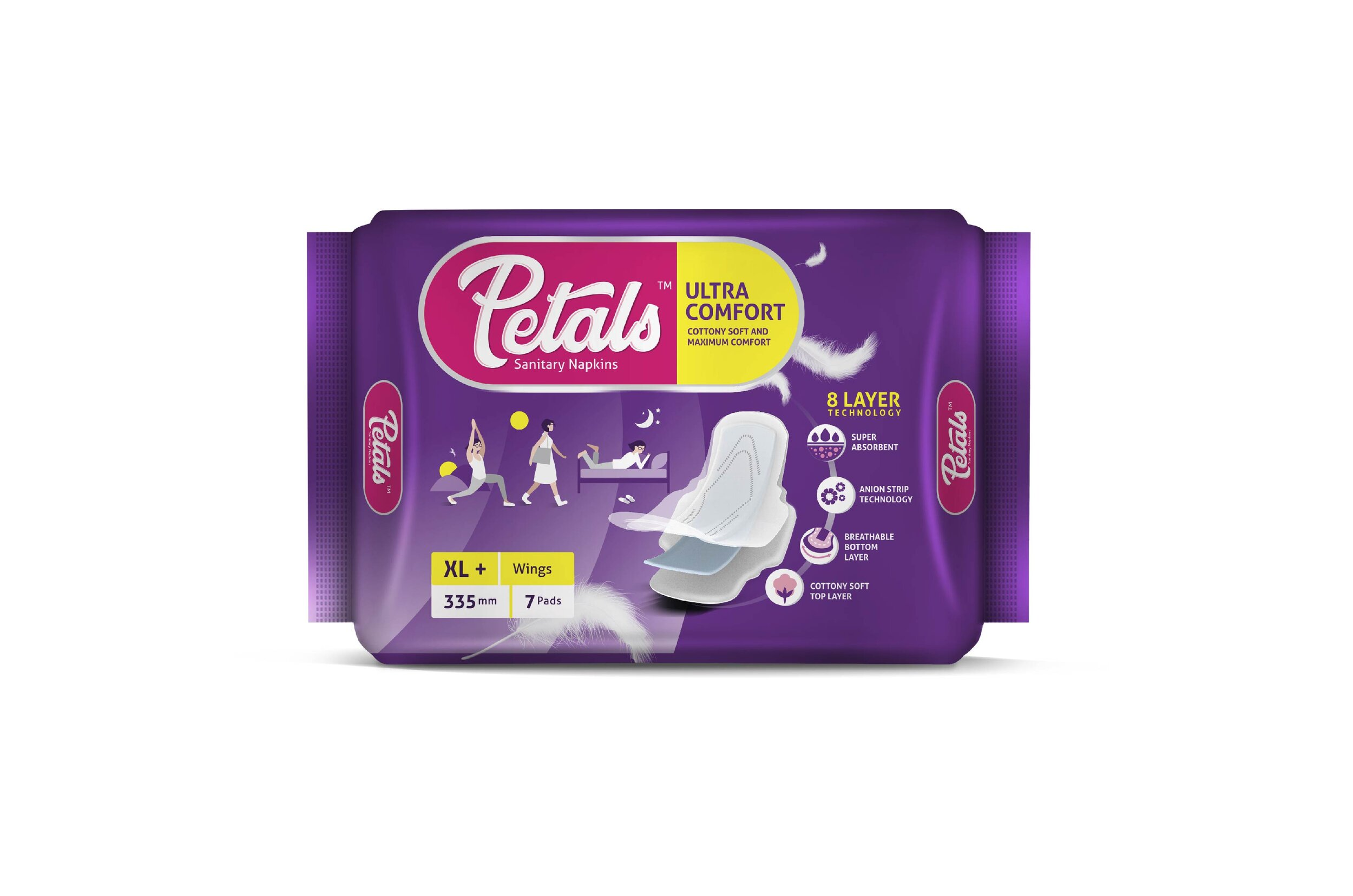 Petals Sanitary Pads Packaging Design Elephant Design Strategy India Elephant Design