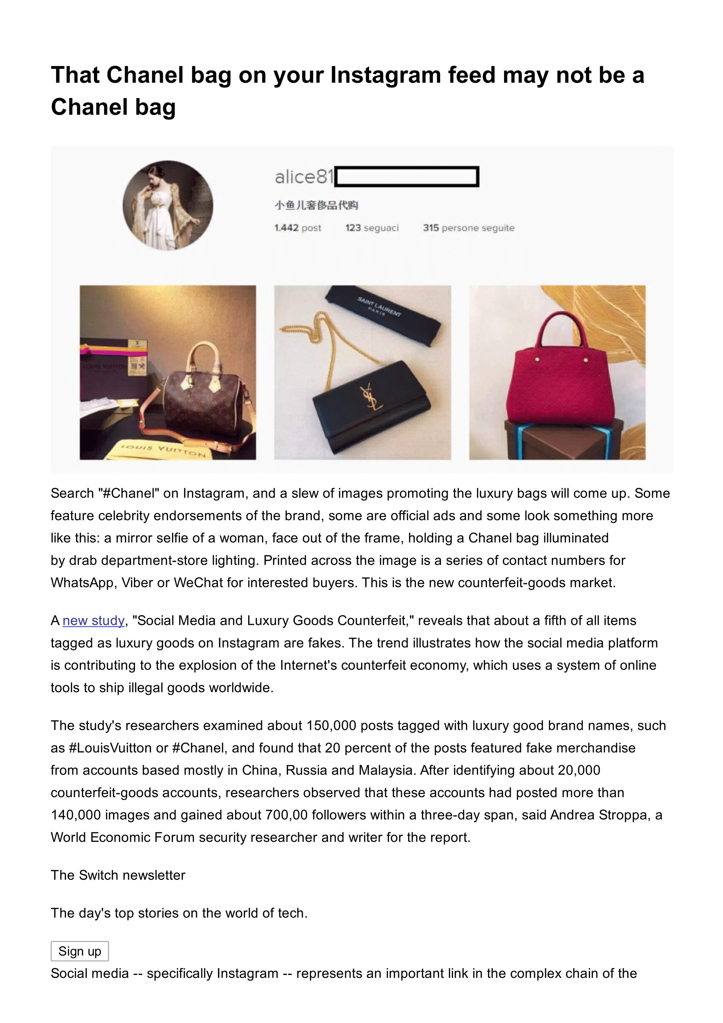 That Chanel bag on your Instagram feed may not be a Chanel bag - The Washington Post1.jpg