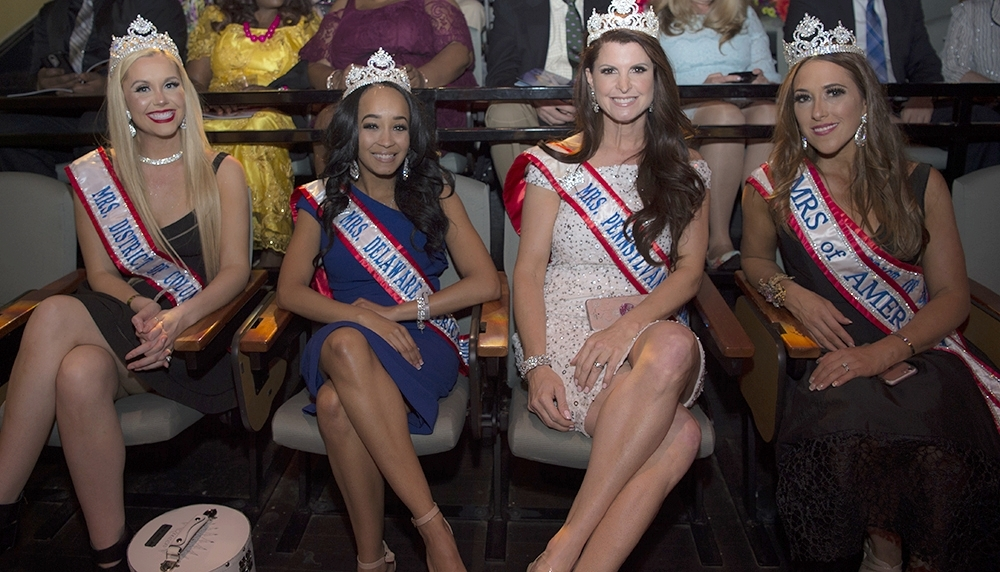 Pageant Queens with beautiful hair make a statement at appearances!