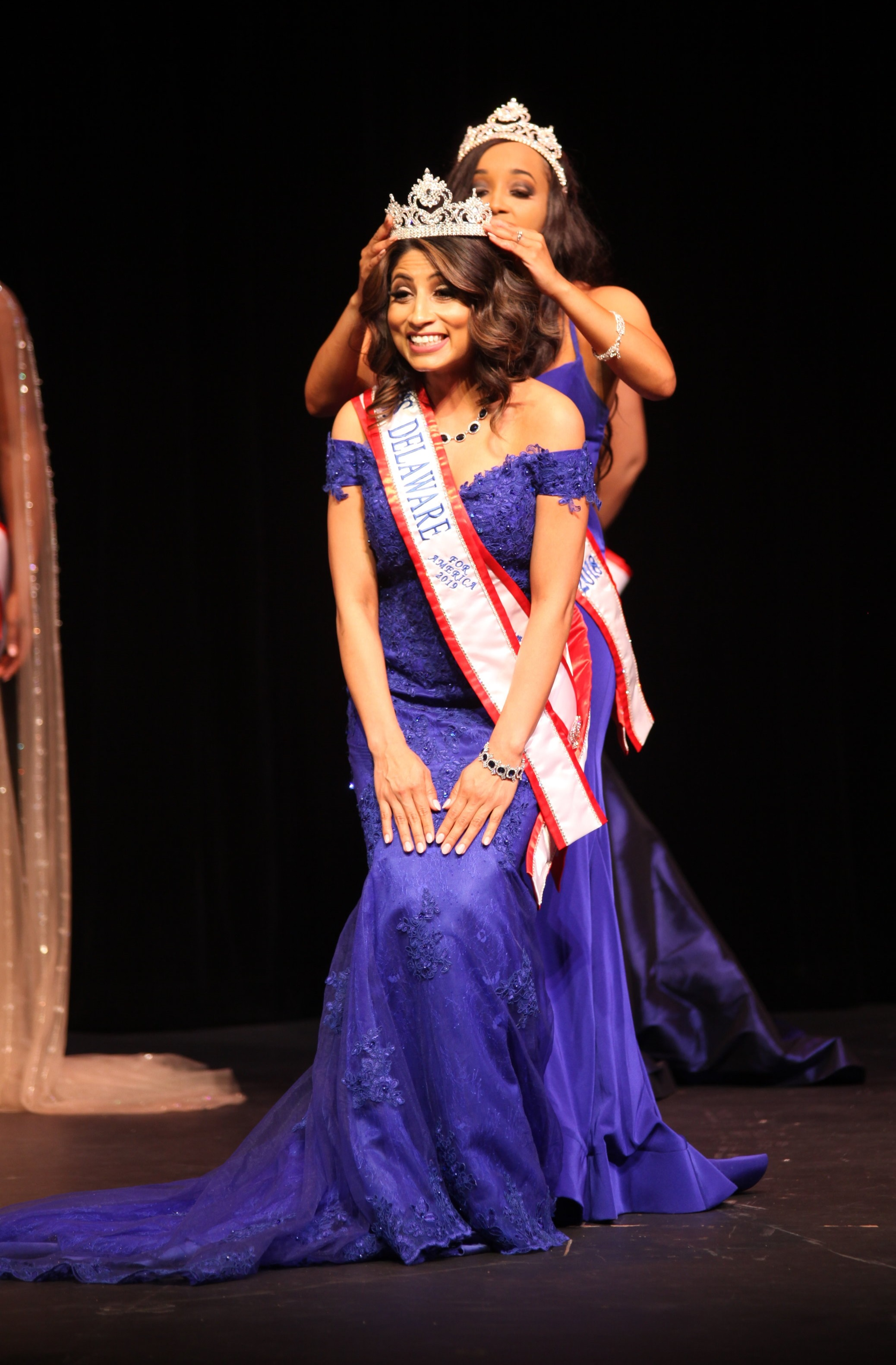 Daphne Chaniz-Rico is crowned Miss Delaware for America 2019