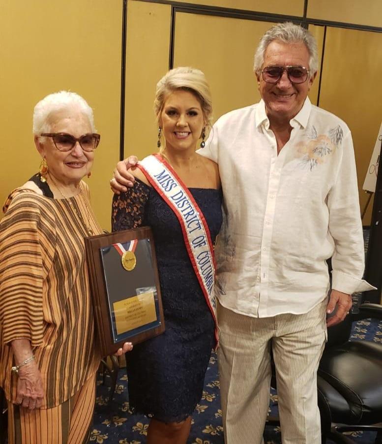 Miss DC for America Wins Sponsorship Award