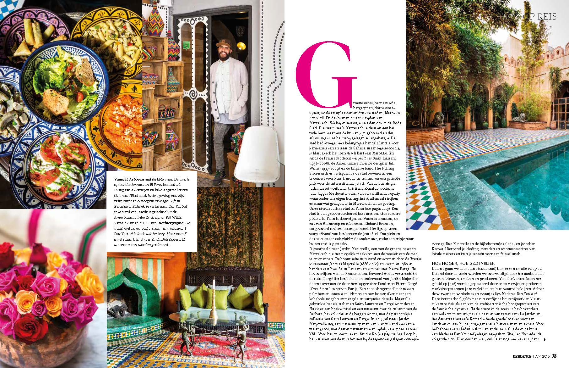 Residence Magazine Page 2