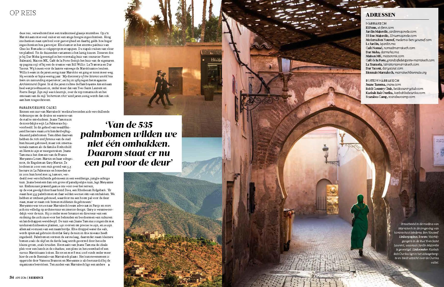 Residence Magazine Page 3