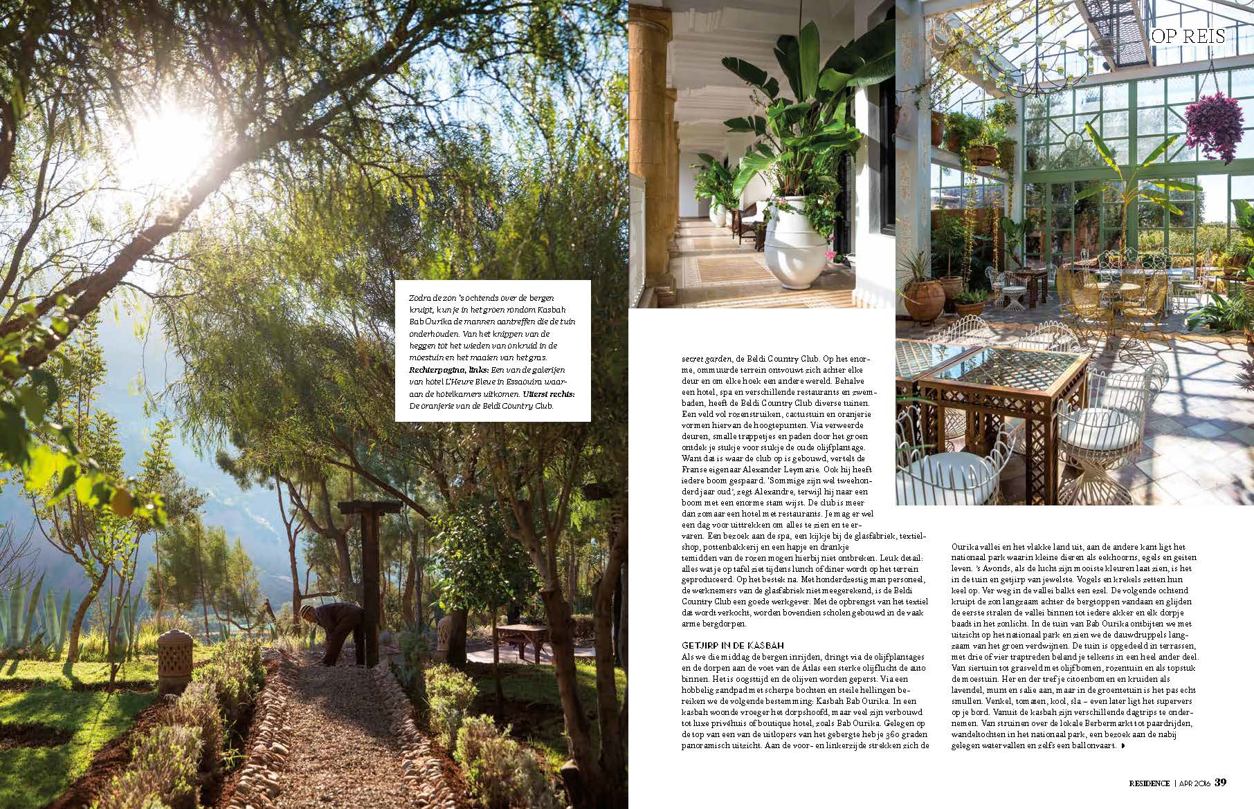 Residence Magazine Page 5