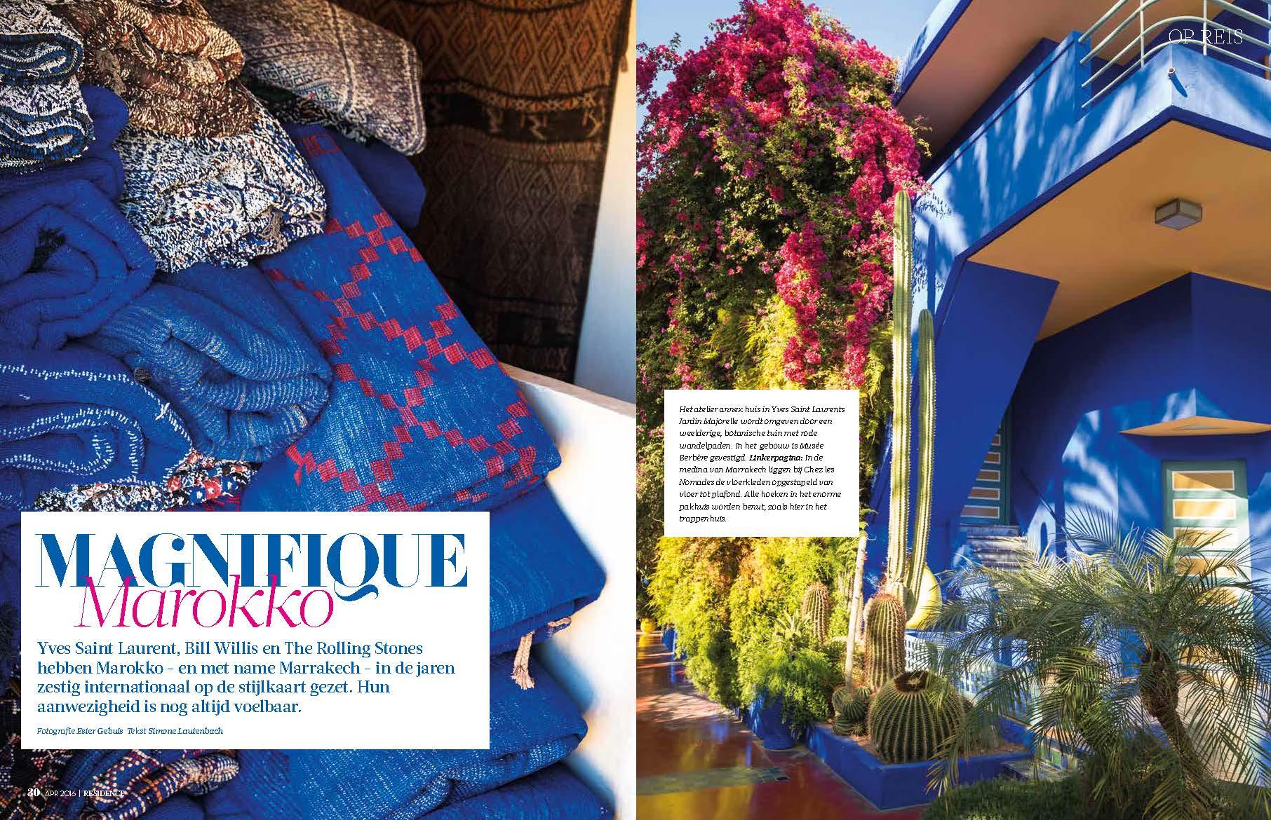 Residence Magazine Page 1