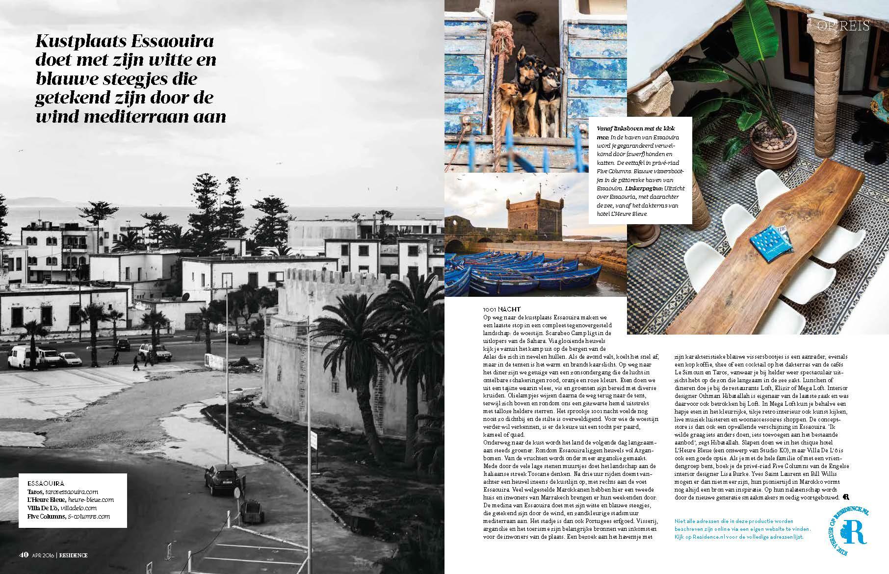 Residence Magazine Page 6