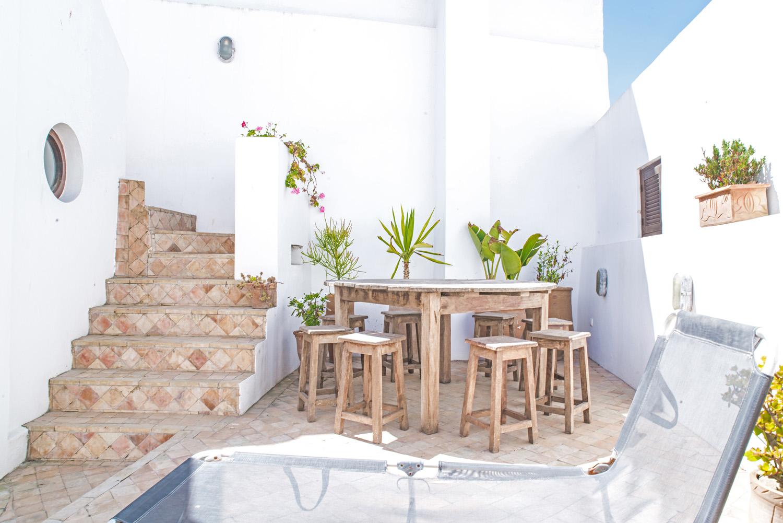 moroccan patio terrace suntrap