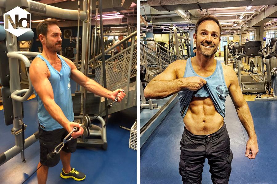 Training routine - Nicholas Daines