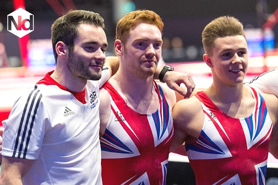 GB Gymnastics Team - Nicholas Daines