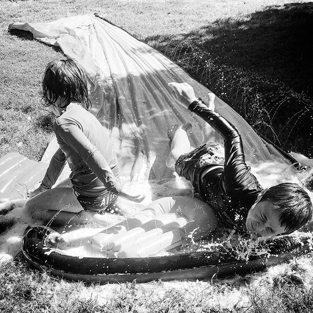 Summer water fun #3 . . . #ShotoniPhone #TheBlackandWhiteSeries #SPiCollective #fineartphotography #streetphoto_bw #motherofboys #bnw_magazine #outofthephone #bnw_demand #summerfun