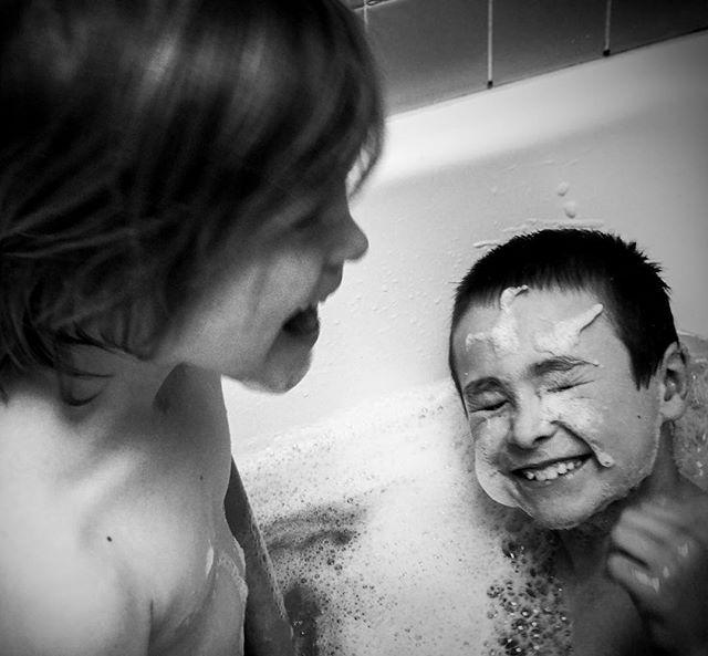 Summer water fun #2 . . #ShotoniPhone #TheBlackandWhiteSeries #fineartphotography #motherofboys #bnw_magazine #outofthephone #bnw_demand