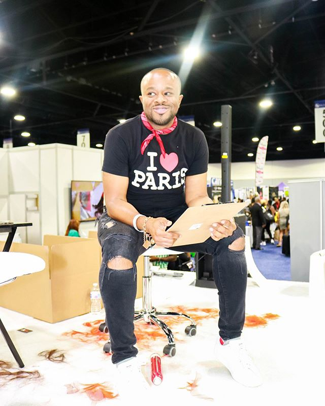 When I got the call requesting my return to the @bronnerbros hair show showroom floor to provide creative direction for @rebeccahairoutlet, I had certain terms that were non-negotiables. I had to have my partner-in-crime, @chereckadonaldson, beside me because when we get in our show bag - it's crazy. Then, I needed @mr.jglenn because not only would he bring the genius we saw on @americanbeautystar to the stage, but he'd keep the crowd entertained as well. After that, I knew I needed @bankzo because if he could bring half of what he gives the girls on @bet and @tvonetv to my models, they'd undoubtedly be the belles of the ball. I added @beisa_acoua on glam because this Bronner experience had to be just like the first. She was here then, so she's here now. I knew @airjordans could tackle my sound needs and make our stage shake. I mean, he is from Nola. Then, I'd add models that were equally classy and sassy, and have @christopherjamarpayne style them fashionably. Last, I'd sprinkle in some famous faces for effect and we'd be good to go. I figured it shouldn't be too hard. And I was right. We killed it. Swipe for proof from @christopherjamarpayne.