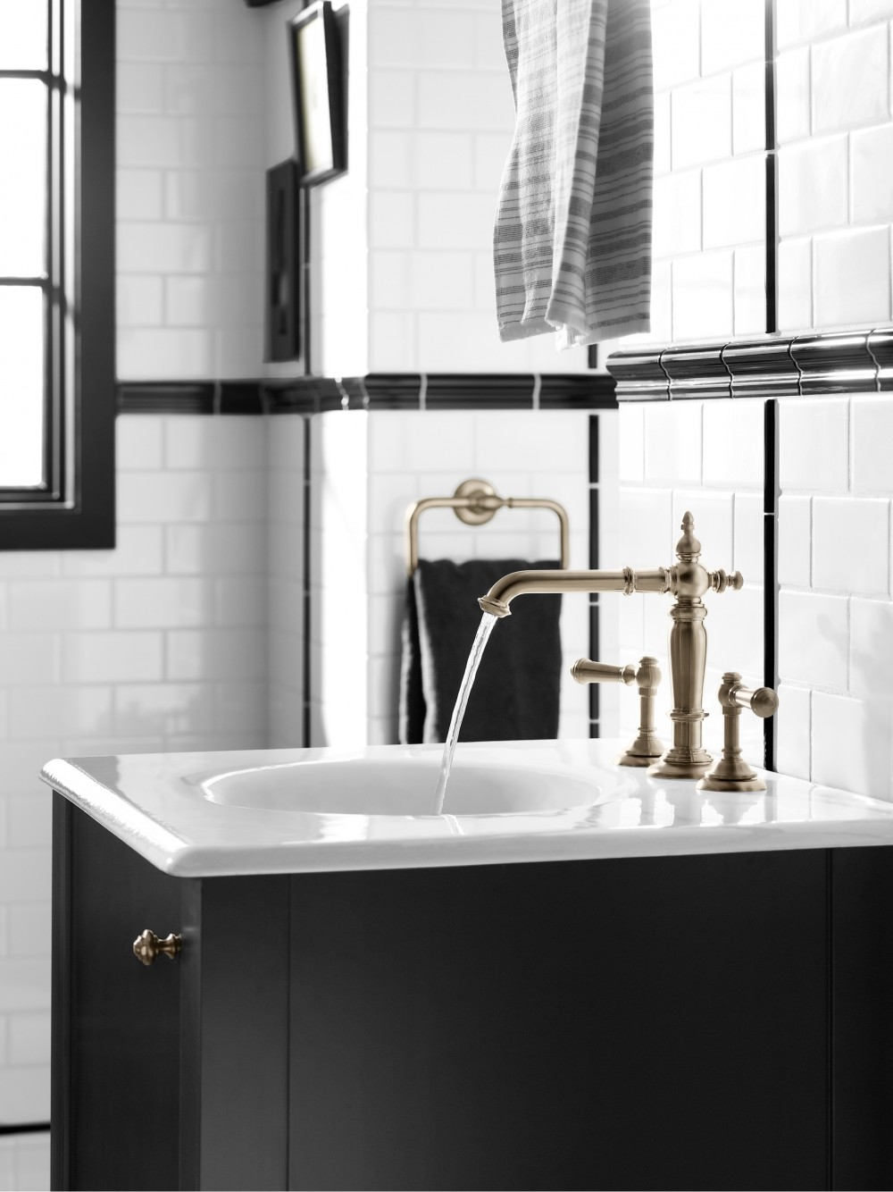 Artifacts Faucet 72760,Iron/Impressions Vanity Top 3048