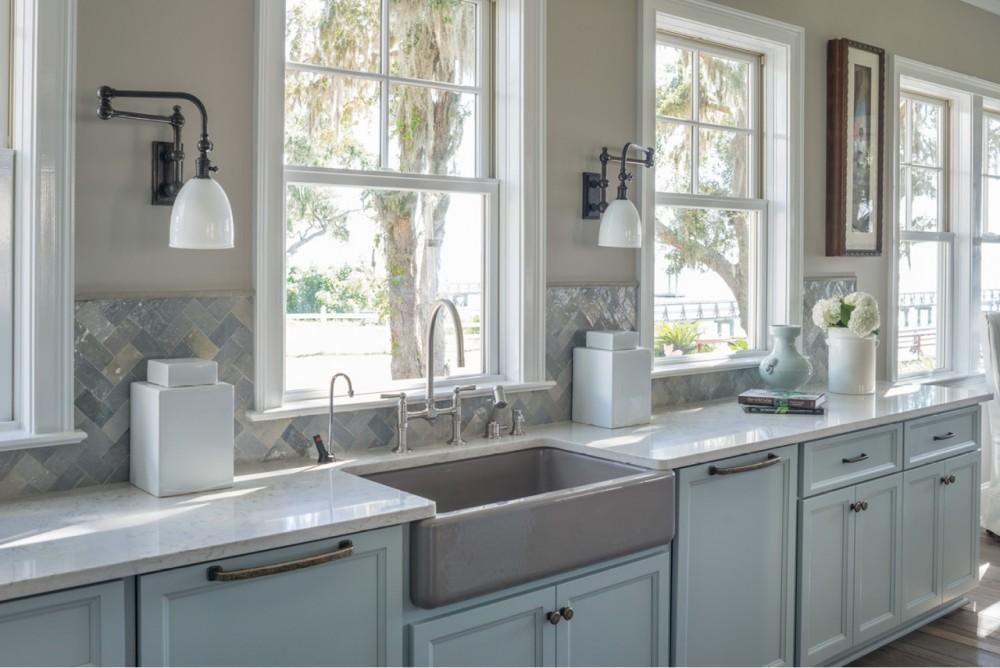 Whitehaven Kitchen Sink 6489, HiRise Faucet 7337