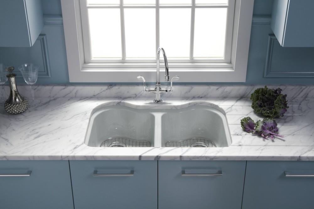 Essex Kitchen Faucet 8762, Hartland Kitchen Sink 5818