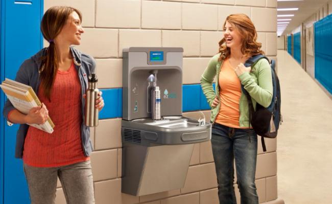 Elkay Enhanced EZH2O Bottle filling Station & Single ADA Cooler