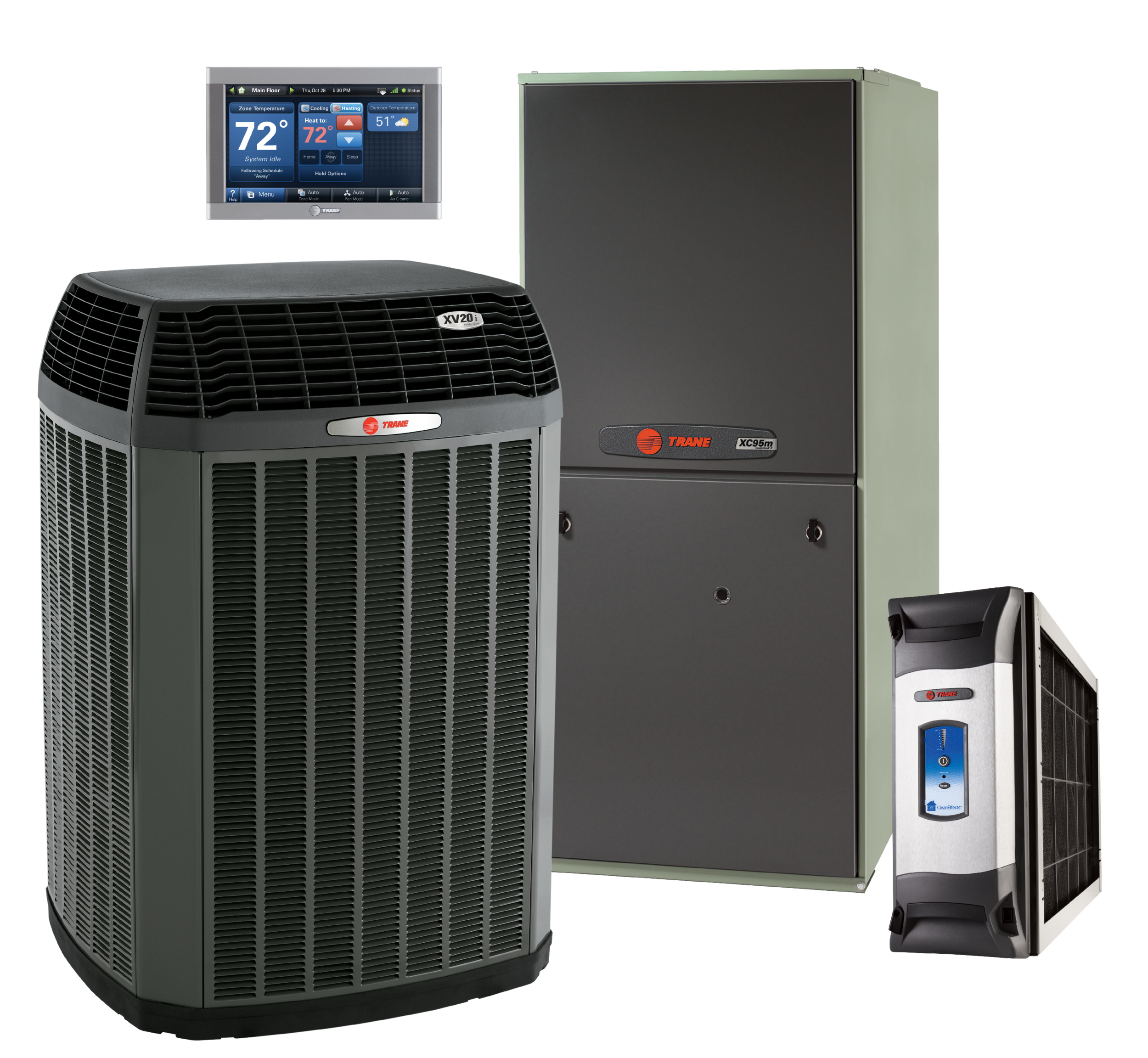 XV20i,XC95,XL950,CleanEffects_Financing options available for Trane heating and cooling equipment. Ask us for a free estimate.