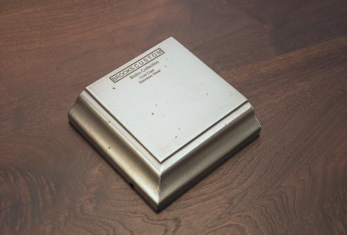 Stainless Steel Countertop Sample