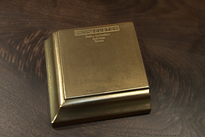 Bronze Countertop Metal Sample