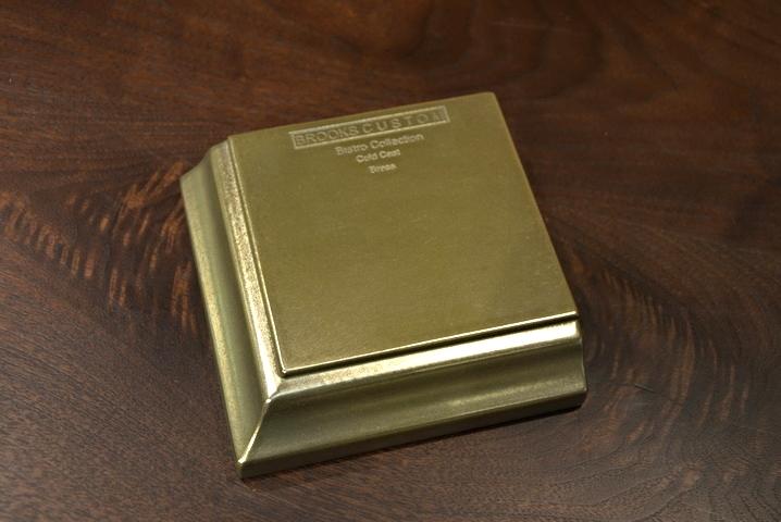 Brass Countertop Sample